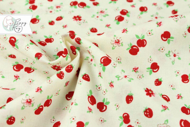 Lecien Apfel Feedsack Vintage