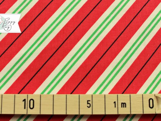 Michael Miller Candy Cane Stripe