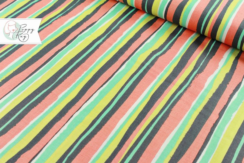 Michael Miller Palm Stripe
