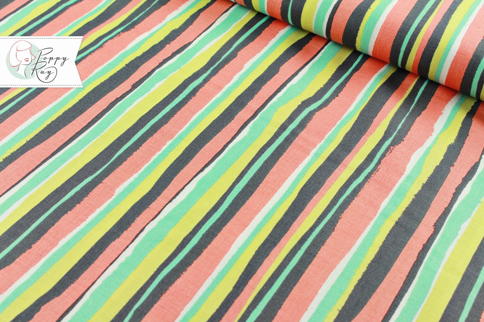 Michael Miller Palm Stripe