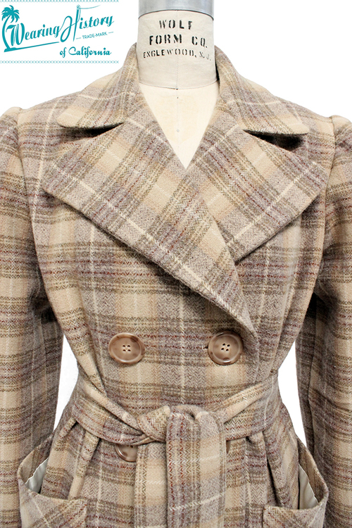 Wearing History Veronica Coat 1940s
