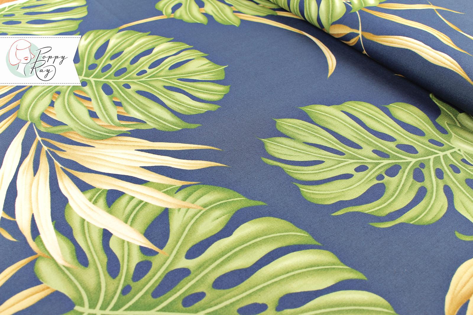 Hawaii Blätter blau