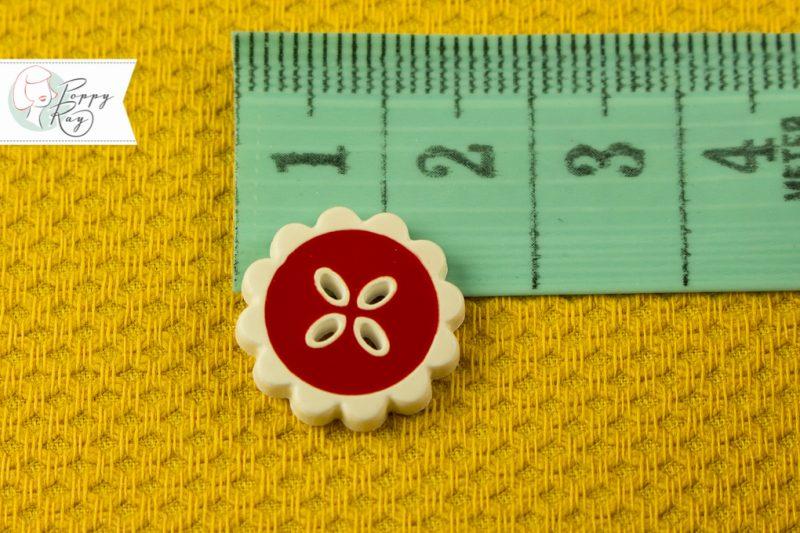 Knopf Blume Vintage