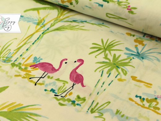 Free Spirit Flamingo white