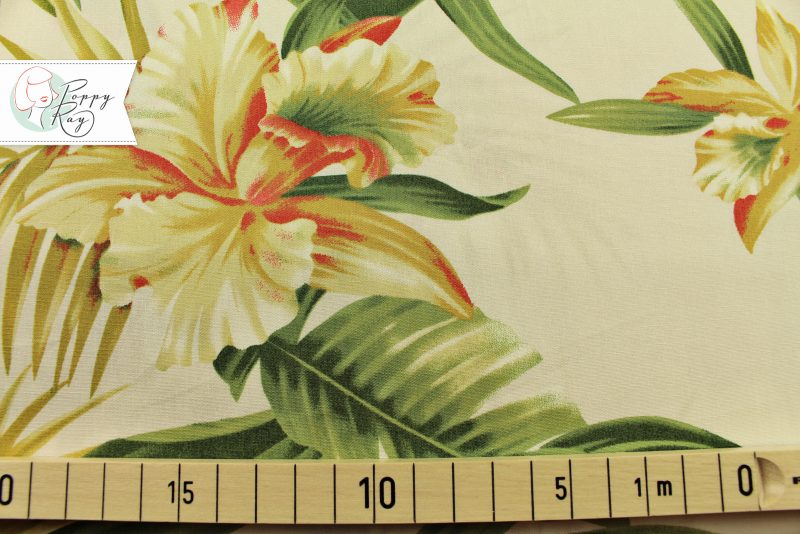 Hawaii Blumen weiß
