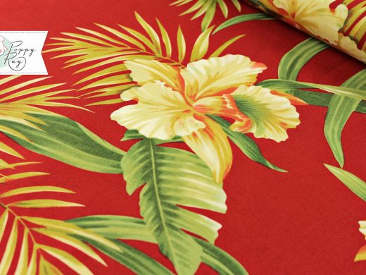 Hawaii Flowers red