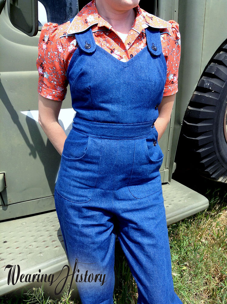 Wearing History Homefront Overalls