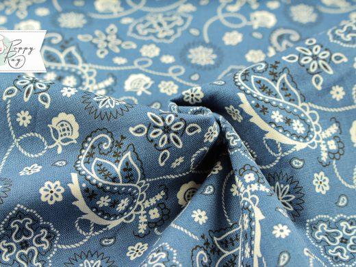 Windham Paisley blau Western
