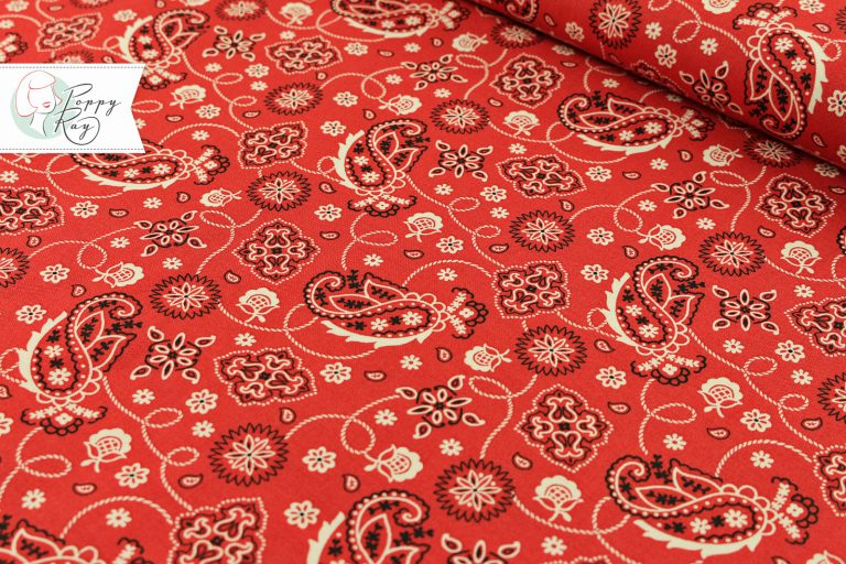 Windham Paisley rot Western