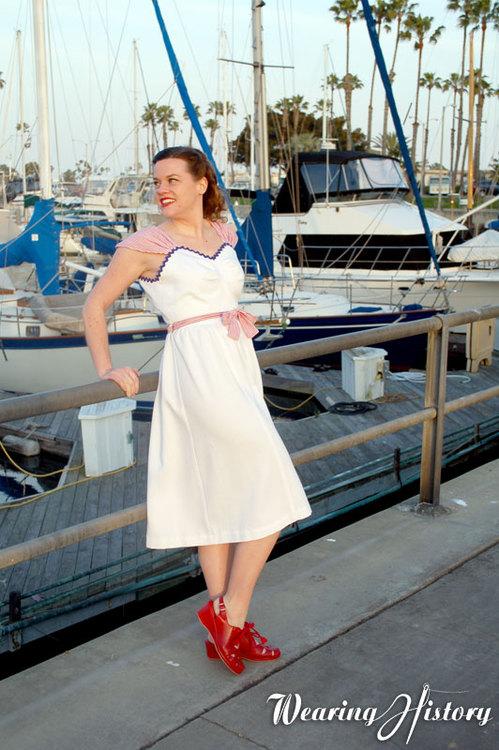 Wearing History Palisades Wrap Dress