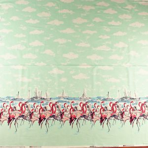 Michael Miller Flamingo Borderprint