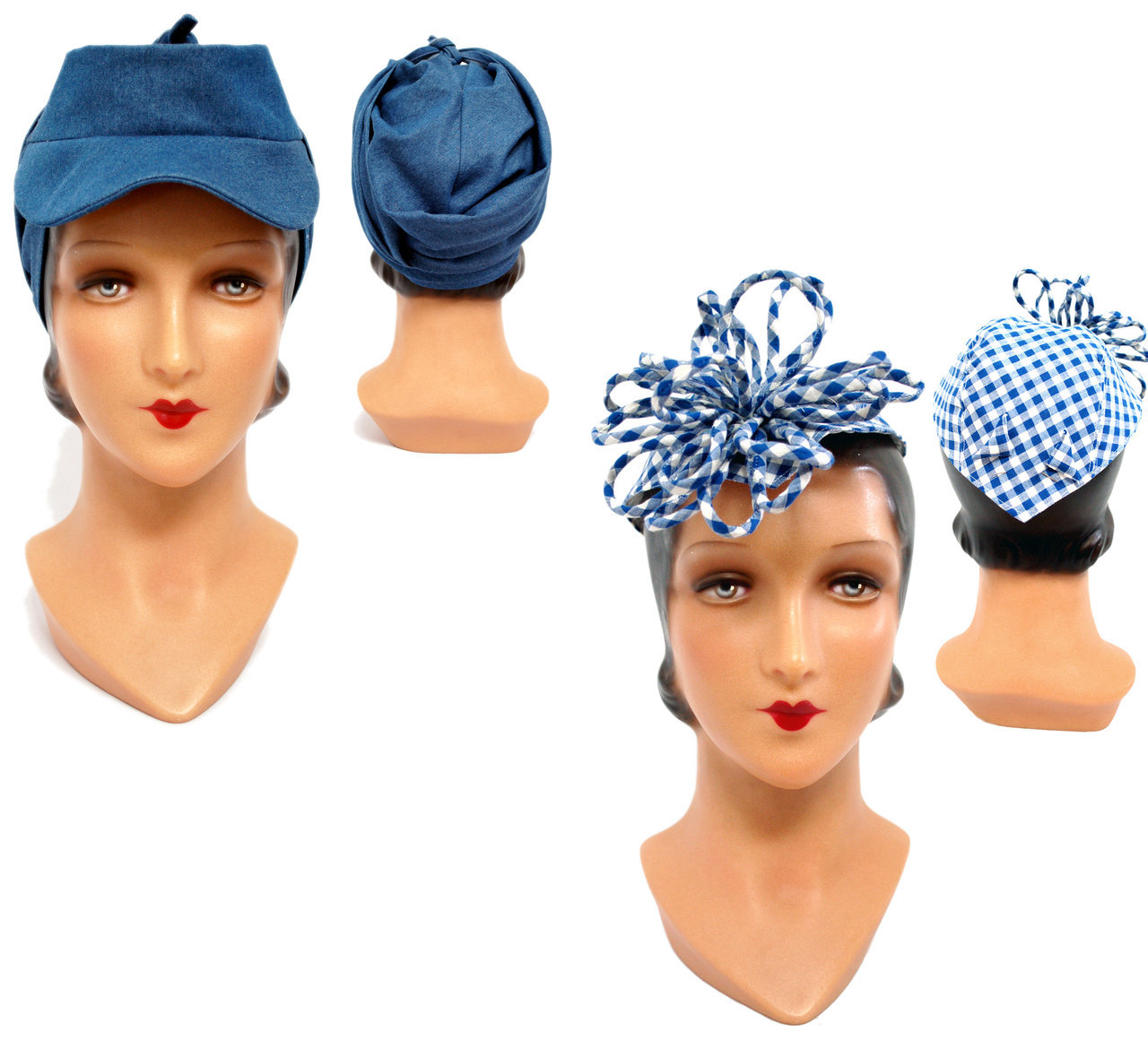 Wearing History Schnittmuster 1940er Victory Hat Turban – Poppy Ray