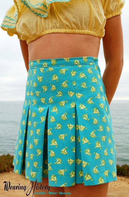 Wearing History Rita Shorts