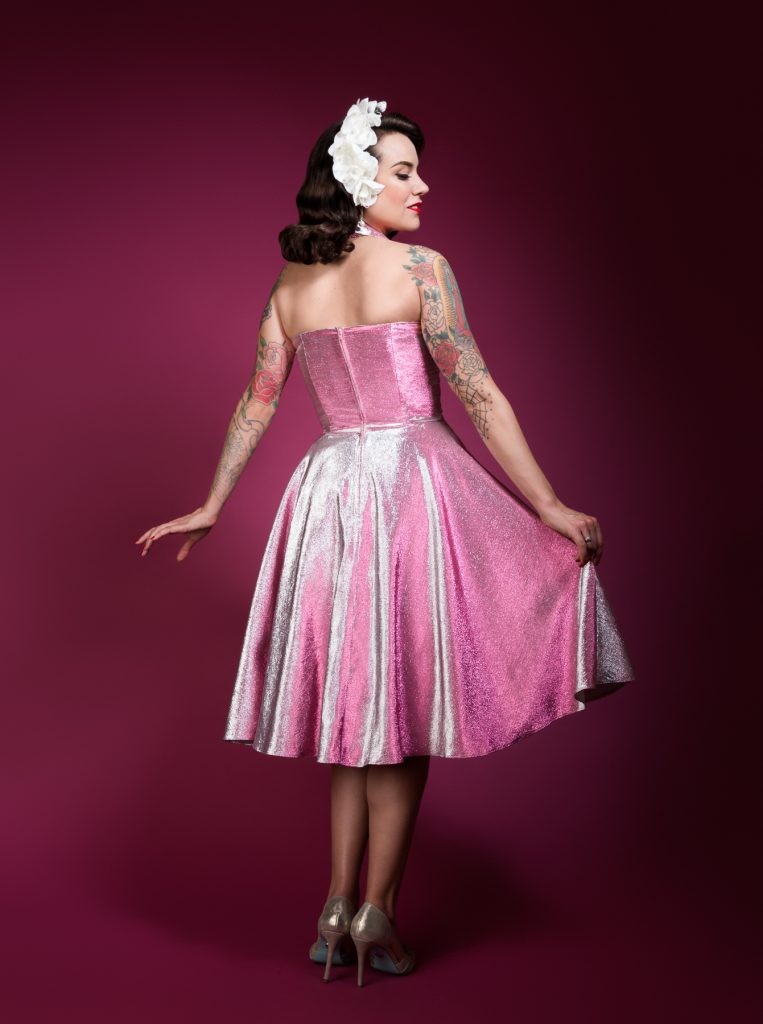 Charm Patterns by Gertie Lamour Dress