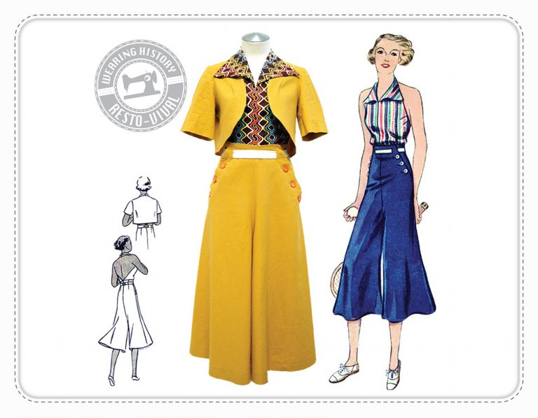Chic Ahoy Wearing History Sailor Schnittmuster retro Vintage