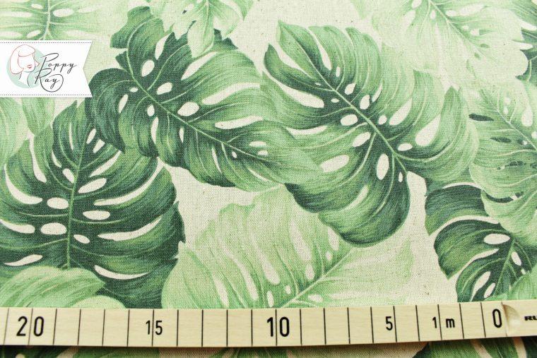 Hawaii Blätter Baumwolle Leinen
