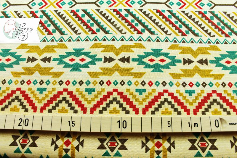 Kokka Baumwolle Navajo ethno Mexiko