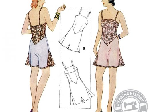 Gigi 1930er Nachthemd