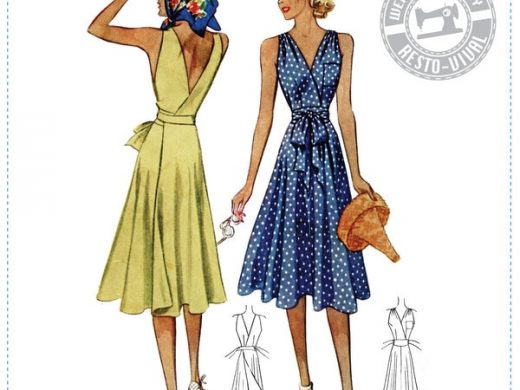 1939 Wrap Dress