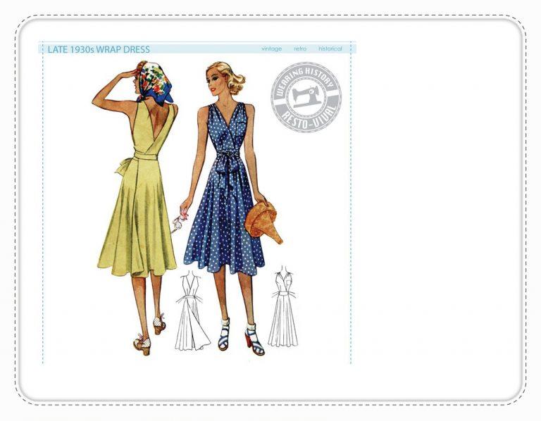 1939 Wrapdress Wearing History