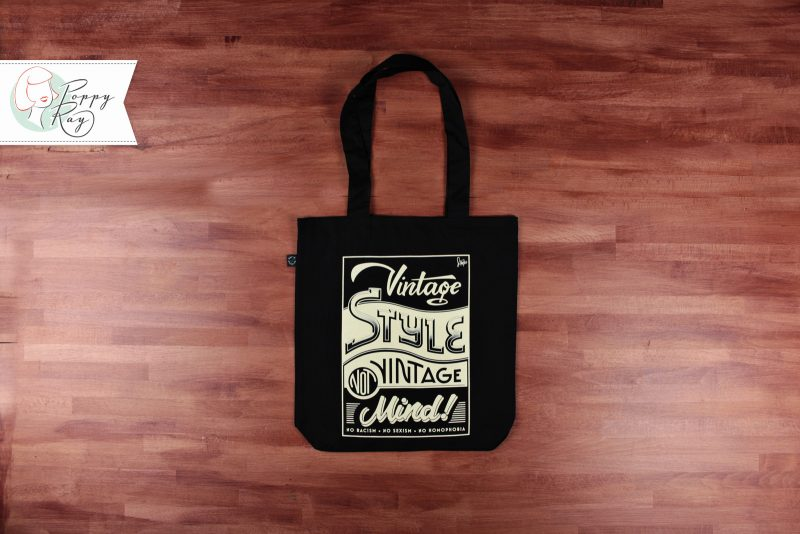 Tote Bag Vintage Style not Vintage Mind