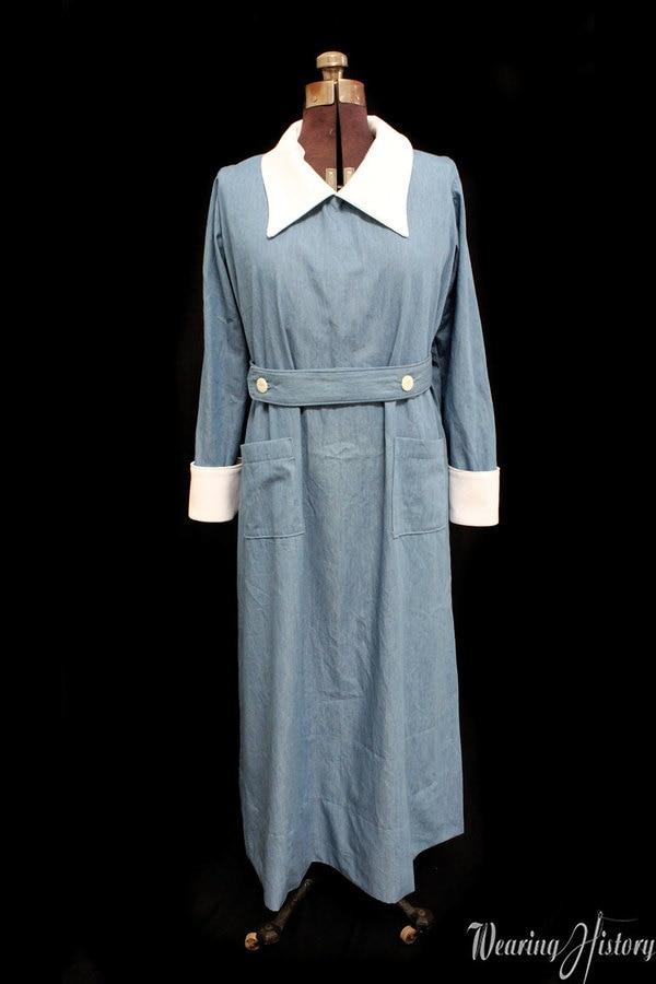 Wearing History 1910s Canteen uniform