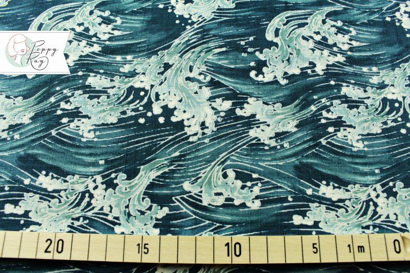 Baumwolle japanisch Wellen