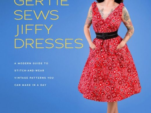 "VORBESTELLUNG Schnittmuster Buch ""Gertie sews Jiffy Dresses"""