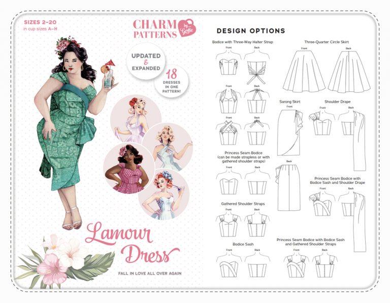 Charmpatterns Gertie Lamour Dress