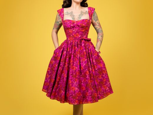 Charm Patterns by Gertie Liz Dress