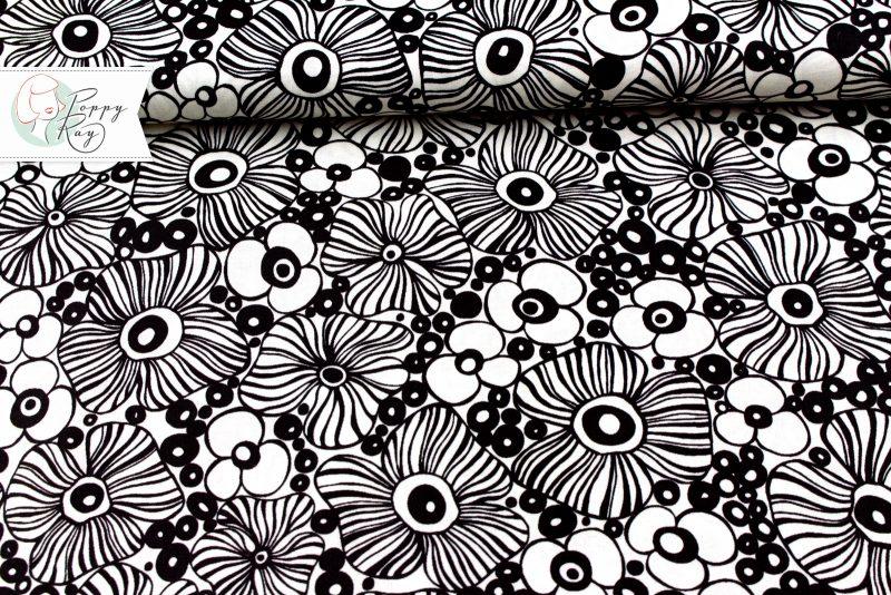 Moda 60er Blumen