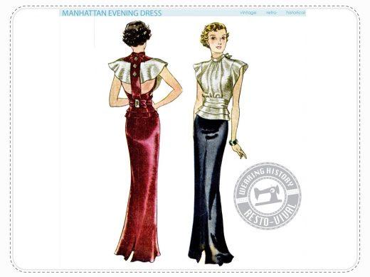 Wearing History Manhattan Art Deco