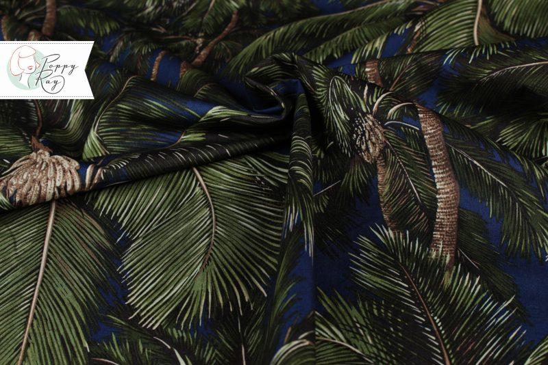 Hawaii Baumwolle Palmen
