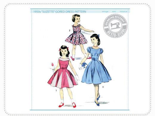Wearing History Suzette Dress 1950