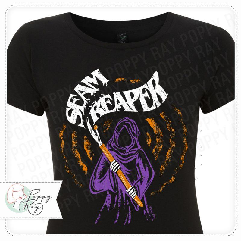 Shirt Heavy Metal 70s Vintage Seam Reaper