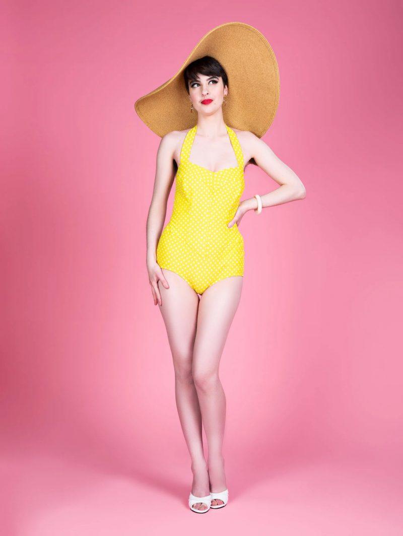 Charm Patterns Esther Swimsuit Vintage Badeanzug